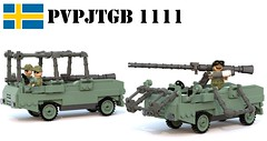 Pansarvrnspjsterrngbil  1111 (Matthew McCall) Tags: ego army war tank sweden military rifle swedish destroyer recoilless