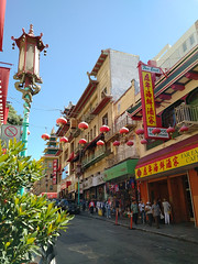 Chinatown, Early Summer (incidencematrix) Tags: sanfrancisco california chinatown blackberry priv
