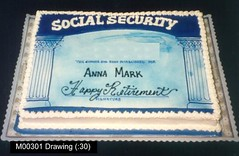 M00301 (merrittsbakery) Tags: cake civic card retirement socialsecurity