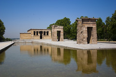 Tempio Debod - Madrid (Deivid82) Tags: tempiodebod madrid spagna spain temple acqua water agua egitto egypt monument monumento riflesso reflejo reflect