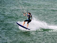 Kitesurfer (Stokholm2007) Tags: cold denmark hawaii surf surfing kitesurfing thy kitesurfer