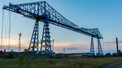 Middlesbrough   |   Transporter Bridge Twilight (JB_1984) Tags: uk bridge sunset england industry river twilight unitedkingdom dusk bluehour middlesbrough teesside tees transporterbridge teesvalley northeastengland rivertees teestransporterbridge middlesbroughtransporterbridge