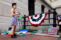 Artist at City Hall (ViewFromTheStreet) Tags: allrightsreserved artist blick blickcalle blickcallevfts calle candid copyright2016 pennsylvania philadelphia photography stphotographia streetphotography viewfromthestreet amazing bunting classic drawing female girl painter painting pictures street uplifting vftsviewfromthestreet woman blickcallevfts copyright2016blickcalle