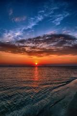 HDR sunrise (toddmwise) Tags: ocean light sunset sea summer sun seascape color beach sc clouds sunrise canon landscape island photography photo sand waves south charleston carolina morris hdr folly lowcountry inexplore