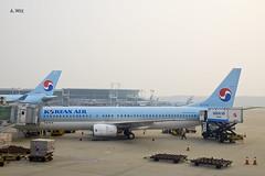 Korean Air 737-900 (A. Wee) Tags: korea  incheon airport  seoul  koreanair  boeing 737 737900