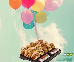 SUBWAY (Rosas ao VIVO) Tags: subway parque das rosas barra restaurante fast food sanduiche rapido combo cookie chocolate salada ao vivo