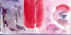 er hatte die Zukunft gesehen. Ja konnten es die anderen denn nicht erkennen (raumoberbayern) Tags: auto city pink winter dog bus fall smart car pencil paper munich mnchen landscape herbst tram sketchbook hund stadt papier landschaft bleistift robbbilder skizzenbuch strasenbahn