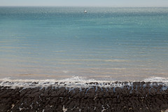 Ahoy there   Seven Sisters walk   July 2016-22 (Paul Dykes) Tags: southdowns southdownsway southcoast coast cliffs sea shore coastal englishchannel sussex england uk seaside sun sunnyday chalk downs hills countryside