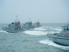 First Patrol Boat Squadron SQUADEX 2011 (Crennis) Tags: hms charger archer raider solent 2011 p2000
