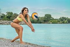 DSC07298 (Tjien) Tags: beach volleyball summer 2016 bfg swimsuit portrait outdoorportrait