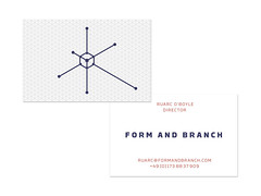 FORM AND BRANCH IDENTITY (Philipp Zurmoehle) Tags: formandbranch design productdesign collective graphicdesign identity branding typography logo logos icon icons website businesscard technical geometrical minimal grid triangles triangle