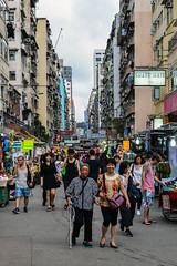 DSC_7267 (focusberlin / N. Loehr) Tags: china kowloon airconditioning architecture banners buildings city downtown highrise market people signs stores street symbols