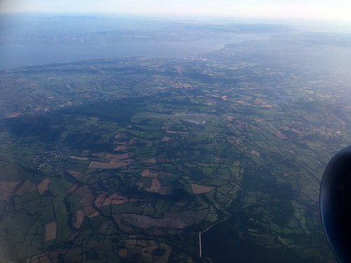 North Somerset from the air