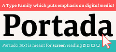 Portada (TypeTogether) Tags: newrelease typetogether joséscaglione irenevlachou veronikaburian webfonts icons freefont typefaces serif wwwtypetogethercom