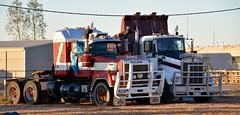 Innaminka (quarterdeck888) Tags: trucks transport roadtransport haulage lorry class8 tractortrailer overtheroad heavyhaulage australianroadtransport nikon d7100 semitrailer frosty quarterdeck flickr jerilderietrucks jerilderietruckphotos truckphotos australiantruckphotos expressfreight freight roadfreight truck mack superliner