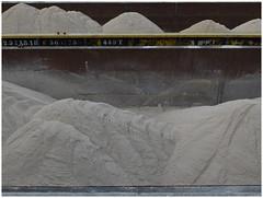 Cement industry (michelle@c) Tags: urban landscape industrialaera abstraction imprint industry cement pile sand barges quays seine paris michellecourteau