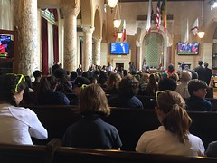 Let's Tackle Fossil Fuels LA City Hall Council Chambers