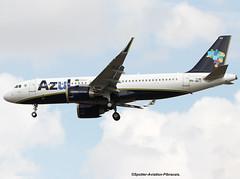 AZUL Linhas Areas Brasileiras. First Airbus A320 NEO For Company. (Jacques PANAS) Tags: azul linhas areas brasileira neo airbus a320251nwl pryra fwwic msn7186