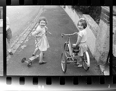 IMG_2261 (zaphad1) Tags: old unknown negaitives slides crail 1960 sixties 1960s 60s creative commons bike bicycle trike tricycle raleigh scotland scots scottish history historical local negs negatives zaphad1