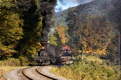 Cass Photography Workshop (Scriptunas Images) Tags: cassscenicrailroad train steam railroad fall walterscriptunasii pocahontascounty shay limalocomotive