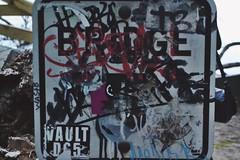 sign art (hshatlden) Tags: urbanexploring urbanart walkingtrail minnehaha bridge4 nikontop nikonphotograph nikond3100 nikon 2016 minnesota mn minneapolis