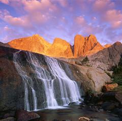 Granite Flow (AlexBurke) Tags: wyoming wind river cirque towers film 6x6 mamiya fuji velvia landscape backpacking