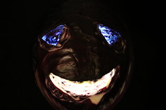 Meet Mr. Rotkohl (unnamedcrewmember) Tags: mr mister red purple cabbage rotkohl kohl illuminiert illuminated notajackolantern mask