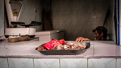 La viande ((Imagine) 2.0) Tags: panasonicdmcgx80 2016 morocco leicadgsummilux15mmf17 marrakech streetphotography people panasonic lumix travel