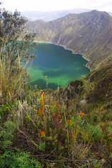 Quilotoa, Ecuador (ARNAUD_Z_VOYAGE) Tags: street city sky people sun white lake black reflection building green art colors beautiful clouds america landscape volcano ecuador amazing view place market action plateau south caldera balck rivers collapse andes viewpoint volcanic mirador cotopaxi indigenous latacunga ecuadorian quilotoa headstream mestizo pastaza cutuchi alaques