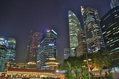 Singapore (772A1326) (Passenger32A) Tags: travel light night buildings singapore asia cbd marinabay