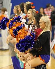 Gator Cheerleaders Pre Game (dbadair) Tags: christmas basketball sweater texas florida gainesville gators southern ugly tigers uf 2014 baskeball