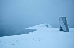 Sudden Snow Storm (Bunaro) Tags: winter mist snow storm ice beach canon suomi finland landscape helsinki blizzard talvi sudden aurinkolahti 1635l4