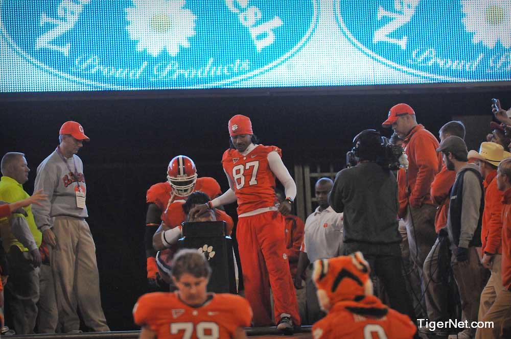 Clemson Photos: 2010, Football, South  Carolina, Terrance  Ashe
