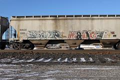 SEMER MALICE (TrackSideLife) Tags: train graffiti freight malice semer upsk