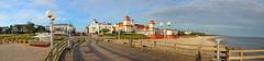 Binz auf Rgen - Panorama von der Seebrcke aus (www.nbfotos.de) Tags: panorama strand balticsea kurhaus ostsee binz mecklenburgvorpommern seebrcke inselrgen panoramafoto