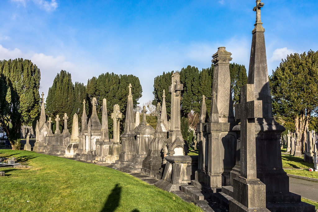 Glasnevin Cemetery, officially known as Prospect Cemetery REF-101133