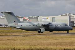 ZE708 BAe 146 Royal Air Force (Guillaume Carré) Tags: force air bordeaux royal bae spotting 146 2015 mérignac ze708