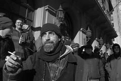Philadelphia, 2015 (Alan Barr) Tags: street people blackandwhite bw philadelphia monochrome mono blackwhite candid streetphotography sp streetphoto gr ricoh 2015