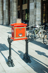 Postbox (Housetier84) Tags: street city sony budapest 350 stadt postbox alpha ungarn hungaria alpha350