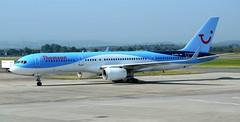 Thomson Airways Boeing 757-236 G-CPEV (Mark 1991) Tags: glasgow thomson boeing 757 gla glasgowairport 757200 gcpev thomsonairways