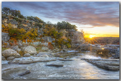 Pedernales Falls State Park - Autumn Sunrise 1 (robgreebonphotography) Tags: images autumncolors prints texashillcountry texasstateparks texaslandscapes pedenralesfallsstatepark