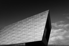 (john g (Birkenhead UK)) Tags: shadow sky bw building history monochrome museum architecture clouds liverpool sony contrasts seaport merseyside slavetrade rx10 capitalofculture2008 niksoftware museumofliverpool