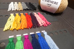 In knitting,quality matters.Colors too (sifis) Tags: city color colour art shop shopping lumix knitting quality knit craft athens hobby yarn greece cashmere tradition lang handknitting lx7 αθήνα sakalak νήματα μαλλιά πλέξιμο πλέκω βελόνεσ σακαλάκ sakalakwool