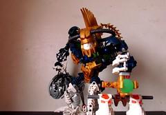 irnakk revamp (vicent steffens (gerou 100)) Tags: lego 2006 technic nightmare fusion bionicle piraka zamor irnakk skakdy