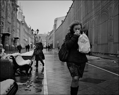1A7_DSC4227 (dmitry_ryzhkov) Tags: life street city winter ladies portrait people urban blackandwhite bw woman white motion black art public monochrome face closeup lady geotagged photography photo movement eyes women europe moments day shot image photos russia walk moscow live candid sony streetphotography streetportrait pedestrian scene stranger walker pedestrians moment unposed citizen dmitry a7 candidportrait ryzhkov ilce7