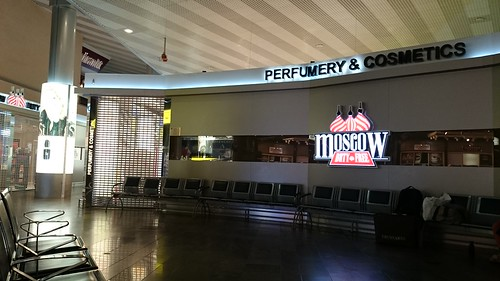 Duty free shops at Terminal 5