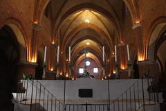 Morimondo Church (Santa Maria Nascente) (raffaele pagani) Tags: italy canon italia gothic lombardia gotico morimondo cistercians cistercense abbaziadimorimondo morimondoabbey