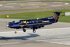Air Corviglia - Pilatus PC-12 - HB-FVD (yak_40) Tags: pilatus pc12 zrh pilatuspc12 hbfvd aircorviglia