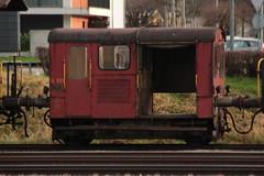 SBB Tm II 633 ( Traktor - Bahndiensttraktor ) am Bahnhof Delmont - Delsberg Kanton Jura in der Schweiz (chrchr_75) Tags: chriguhurnibluemailch christoph hurni schweiz suisse switzerland svizzera suissa swiss chrchr chrchr75 chrigu chriguhurni 1412 dezember 2014 hurni141221 eisenbahn bahn train treno zug schweizer bahnen albumbahnenderschweiz albumbahnenderschweiz2014712 juna zoug trainen tog tren  lokomotive  locomotora lok lokomotiv locomotief locomotiva locomotive railway rautatie chemin de fer ferrovia  spoorweg  centralstation ferroviaria