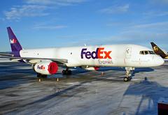 N917FD, Boeing 757-23ASF, FedEx, OSL 23.12.2014 (Skidmarks_1) Tags: norway airport aircraft aviation cargo fedex airliners osl freighter boeing757 engm oslogardermoenairport n517fd